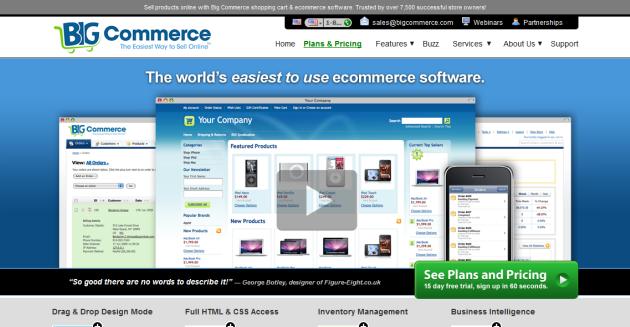 BigCommerce website ecommerce online