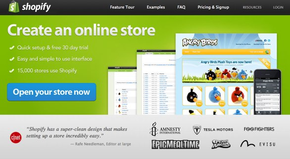 Shopify the best alternative for smaller ecommerce sites