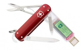 swiss army knife with USB 1tb flash